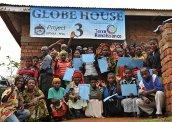 コンゴ民主共和国に「グローブハウスⅢ」竣工